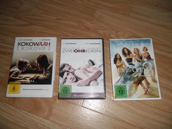 3 DVD Filme originale zu