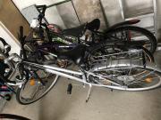 3 Fahrräder zu