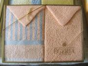 3 Geschenkpackungen Frottier Handtücher 100