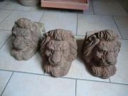 3 große Terrakotta