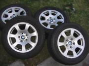 4-TOP-ALUFELGEN-BMW-225-55-R16-WINTERREIFEN-6mm--NP 2500 --FP 360 --
