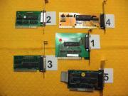 5 LPT - Parallel - Schnittstellen Karten