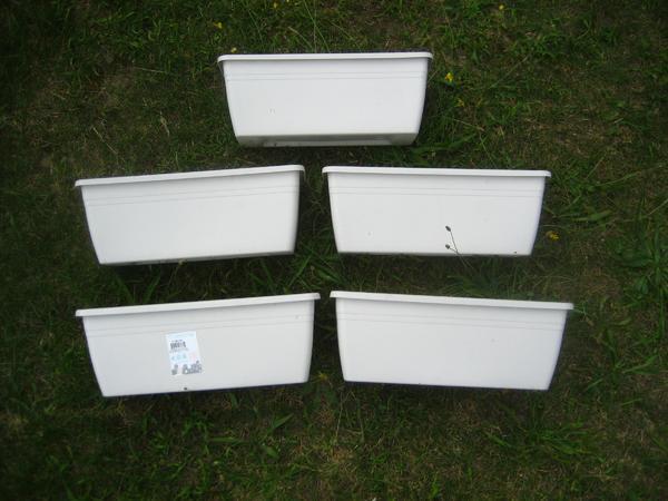 5 Pflanzkübel Pflanzkasten Kunststoff Breite