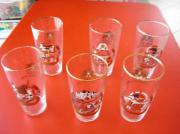 6 Gläser Haller