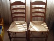 6 Stühle - Eiche -