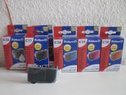 6 Teiliges Tinten-Set für Canon