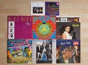 8 Schallplatten, LP,