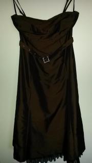 Abendkleid dunkelbraun