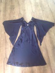 Abendkleid royalblau, Kurzgröße