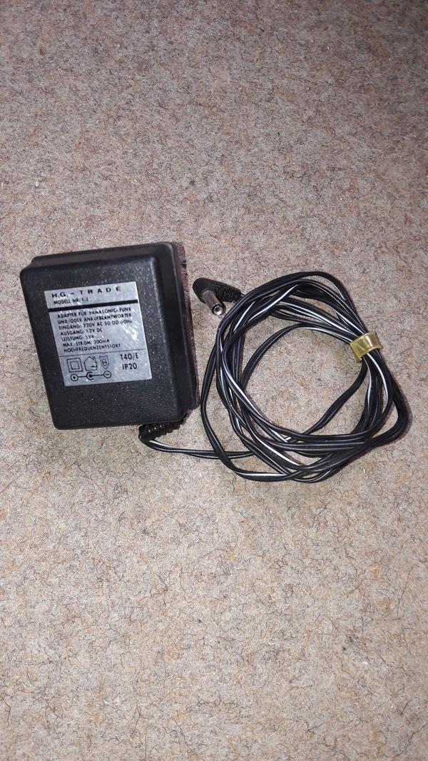 AC-DC Adapter Netzteil H G