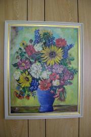 Acrylbild auf Leinenmalpappe (