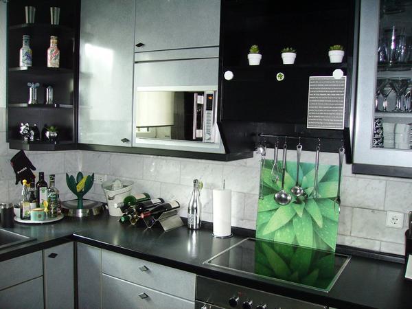 alno komplett küche mit einbaugeräten herd spühlmaschine backofen ... - Küche Backofen