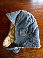 Alte Leder Kappe (