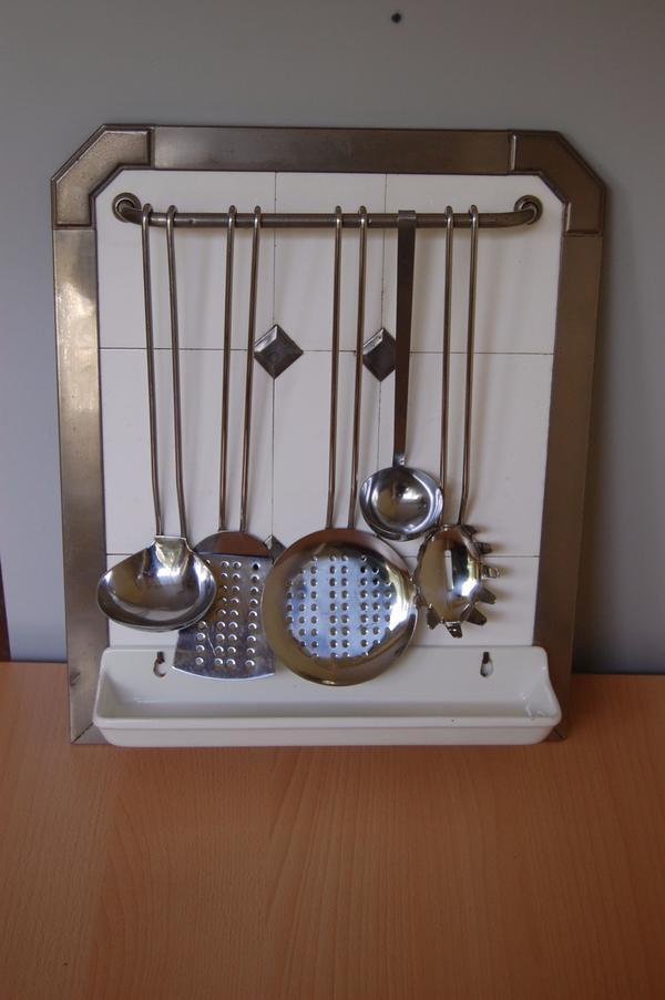 altes Löffelbrett Keramikschild » Küchenmöbel, Schränke