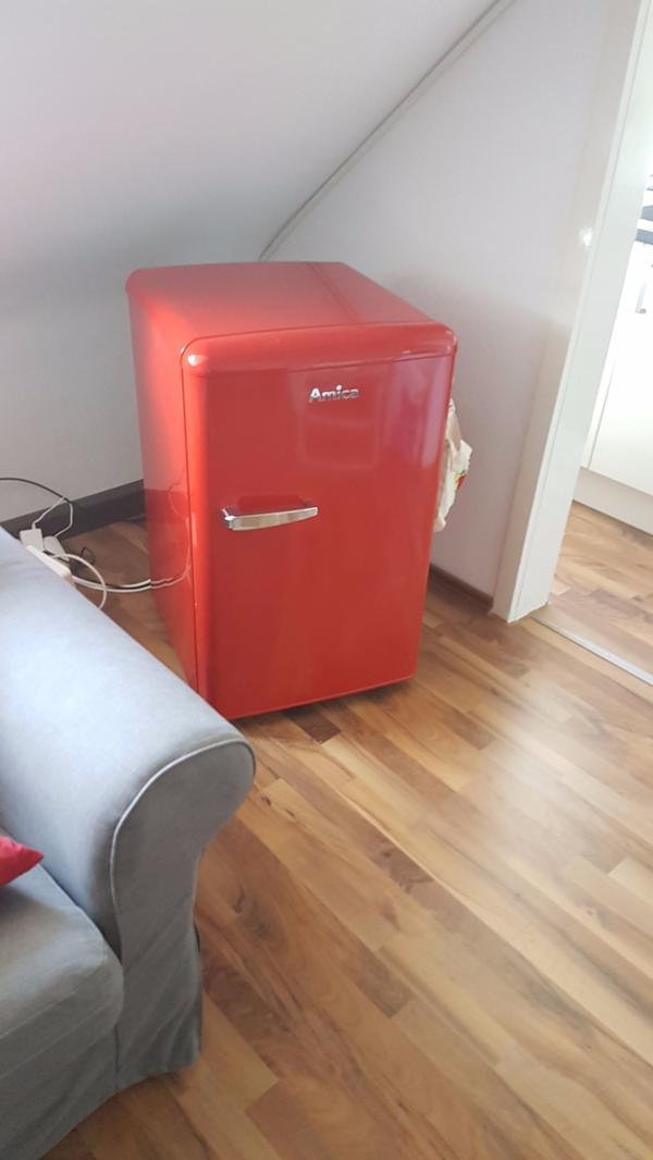 Amico Retro Kühlschrank Rot mit Garantie in Karlsruhe - Kühl- und ...