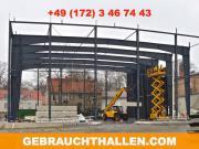 Ankauf Abbau Verkauf Wiederaufbau Stahlhalle