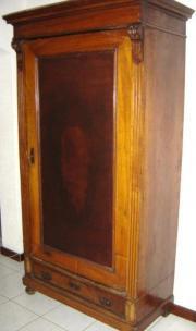 Antiquität Schrank 1880 Nussholz mit