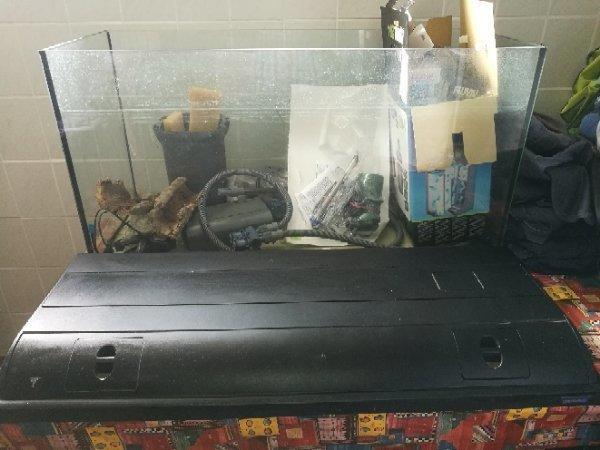 aquarium zubehor gebraucht kaufen nur 4 st bis 75. Black Bedroom Furniture Sets. Home Design Ideas