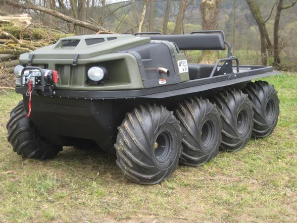 argo 8x8 xti spezial amphibienfahrzeug in marktrodach. Black Bedroom Furniture Sets. Home Design Ideas