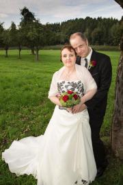 Außergewöhnliches Hochzeitskleid zu verkaufen
