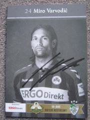 Autogrammkarten Greuther Fürth