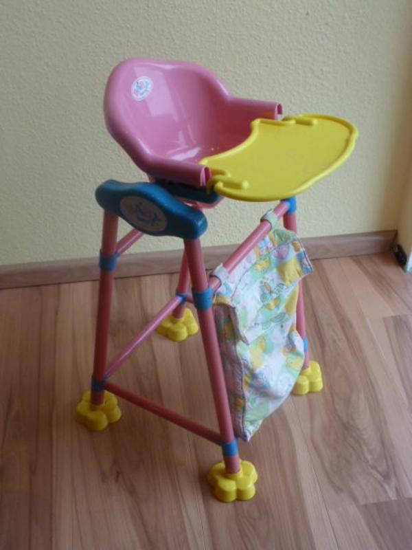 zapf creation 822272 baby born hochstuhl vos. Black Bedroom Furniture Sets. Home Design Ideas