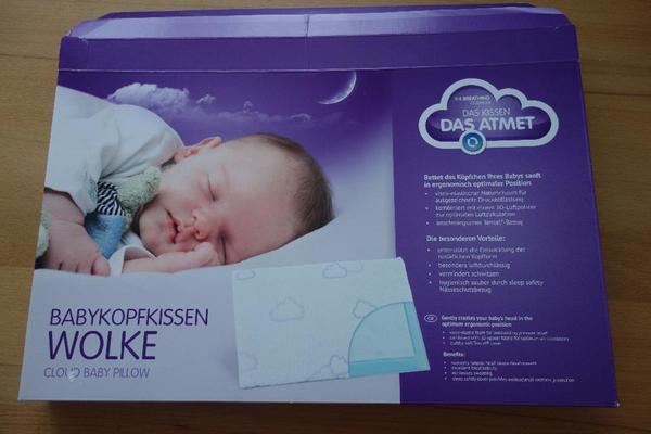 babykopfkissen vom tr umeland gr e 25x40 cm in frastanz baby und kinderartikel kaufen und. Black Bedroom Furniture Sets. Home Design Ideas