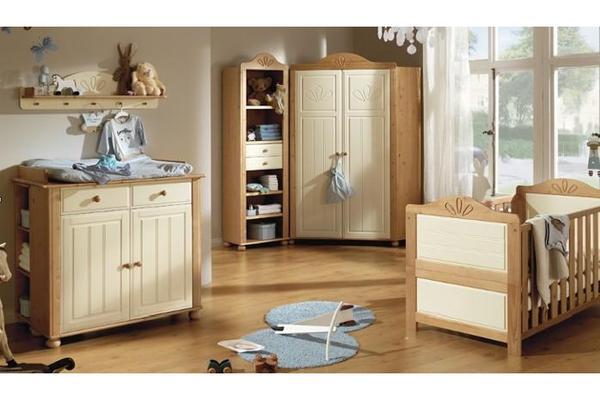 Babyzimmer set günstig kaufen  Babyzimmer LENI Set von Wellemöbel & Haba Schaukel Luftikus in ...