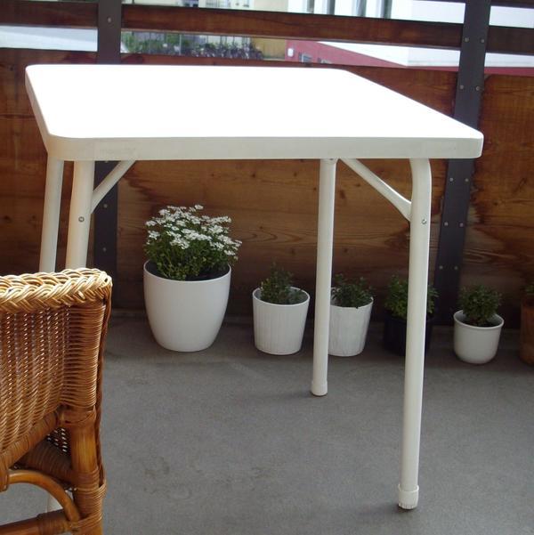 balkontisch neu und gebraucht kaufen bei. Black Bedroom Furniture Sets. Home Design Ideas