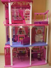 barbie haus mit funktionierendem aufzug in niedernhall puppen kaufen und verkaufen ber. Black Bedroom Furniture Sets. Home Design Ideas