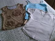 Bekleidungspaket Mädchenbekleidung 3 Tops ca