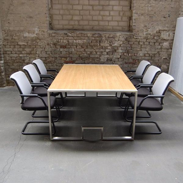 besprechungstisch konferenztisch b rom bel in d sseldorf kaufen und verkaufen ber private. Black Bedroom Furniture Sets. Home Design Ideas