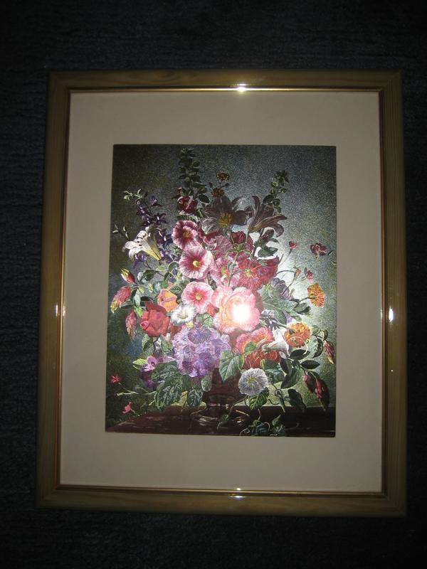 Blumenbild Bild mit Blumen Blumenstrauß