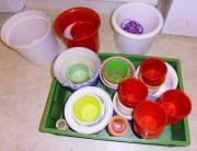 Blumenübertöpfe Keramik verschiedene Größen auch