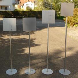 Bodenaufsteller mit Infotafel Hinweisschilder Warnschilder: Kleinanzeigen aus Sinsheim - Rubrik Gastronomie, Ladeneinrichtung