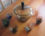 Bowleset aus feinem Glas 50