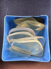 Brillengläser verschieden eine Schachtel