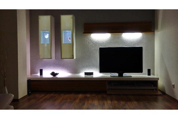 brinkmann lifeart designer wohnwand mit beleuchtung in gägelow ... - Design Mobel Wohnzimmerschrank
