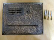 Bronze - Antik Briefkasten
