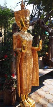 Buddha stehender Holz Buddha ca182cmhoch