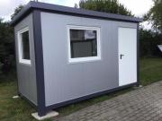 Bürocontainer, Wohncontainer 4x2,