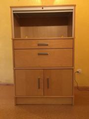 Büroschrank, IKEA, Birke,