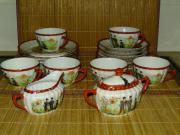 Chinesisches Teeservice aus