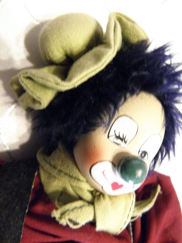 Clowns - zwei Stück » Dekoartikel