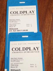 COLDPLAY - Konzert in