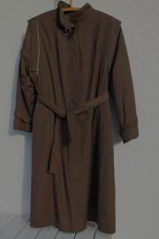 Damen-Popeline-Mantel K-Gr 20 40 braun
