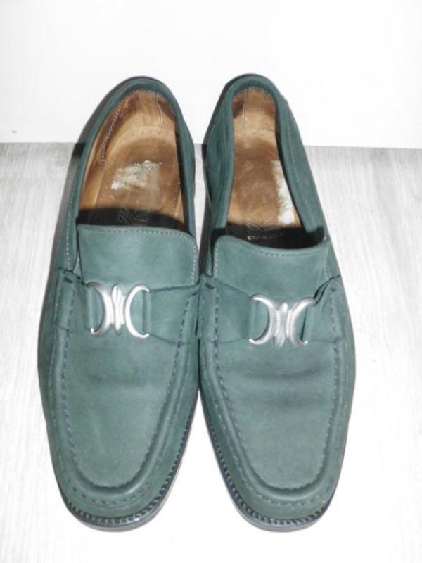 Damenschuhe--caponi --echt wildleder -winterschuhe-gr-37-dunkelgrün