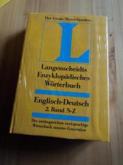 Der große Murat-Sanders Langenscheids Enzyklopädisches