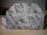 Diorama Die Felsentreppe