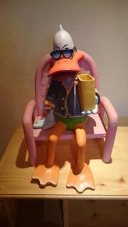 Donald Duck Dekofigur aus Holz